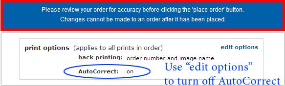 Costco printing poster sizes