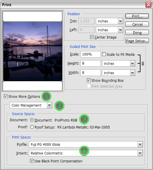 Photoshop 6-CS Print with Preview Options